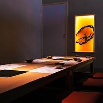 落ち着いた個室で美味しい壱岐料理をお愉しみください♪