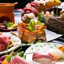 【季節の極み会席】旬な食材を使った旨みを贅沢に堪能♪