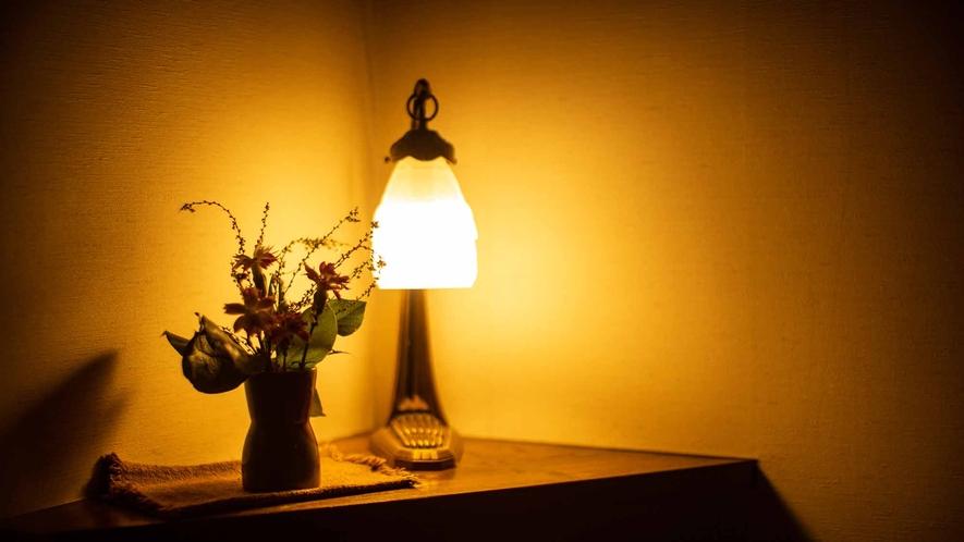 *館内/静かな環境でごゆっくりとお寛ぎください。