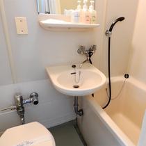 *シングル(バストイレ付)一例 約11平米 無線LAN接続OK! 喫煙&禁煙のお部屋をご用意しており