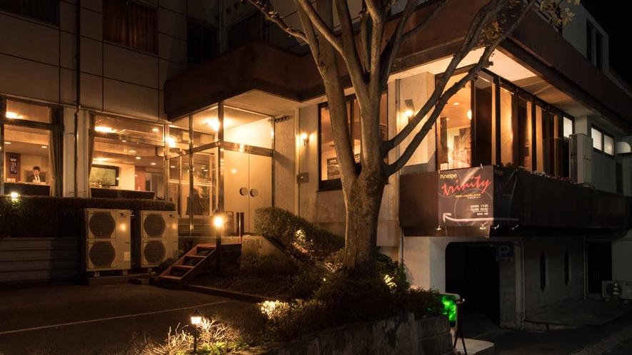 *外観/駒ヶ根駅徒歩約1分&中央道駒ヶ根ICお車約5分!男性用浴場もございます♪
