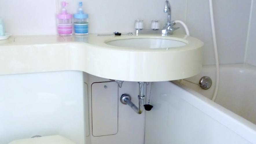 本館ペンション・バストイレ一例