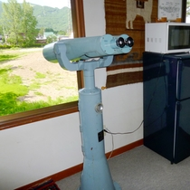 ★観光望遠鏡&共同の冷蔵庫と電子レンジ
