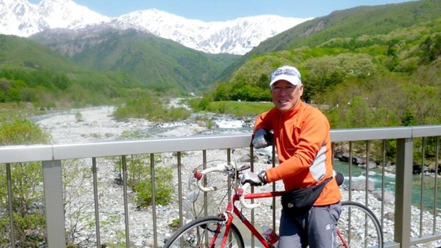 【サイクリング】暇な時はMTBやロードでガイドもします♪