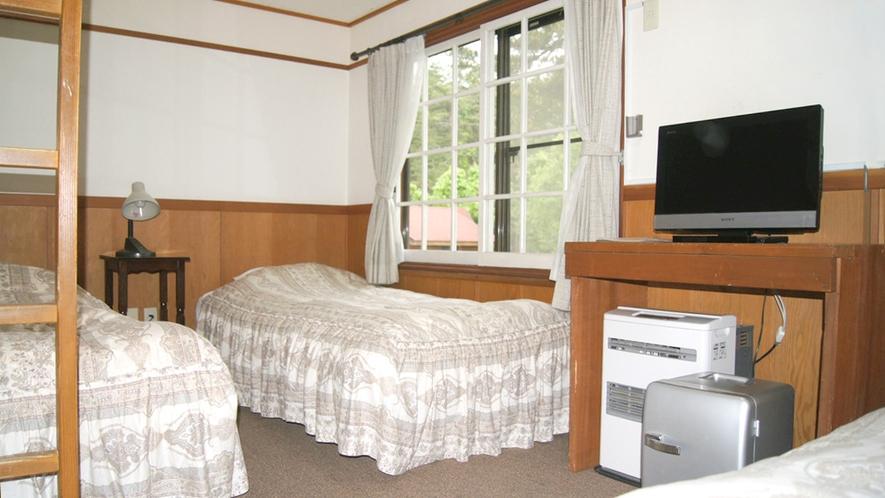 本館ペンション客室エコノミー一例※お部屋によりタイプが異なります