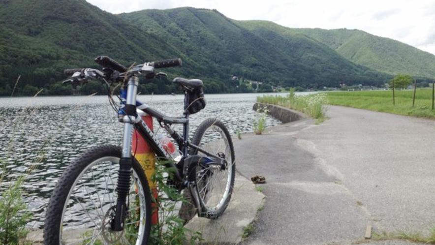 【MTB & サイクリング】仁科三湖(青木湖、中綱湖、木崎湖)周遊コース
