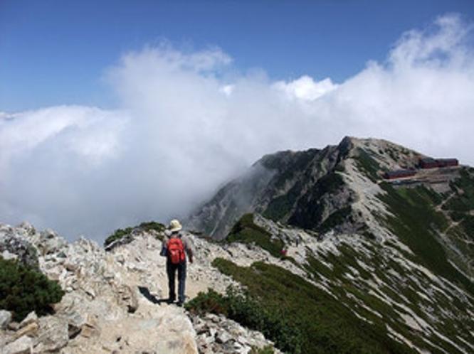 登山プラン 早朝の朝食、お弁当、登山口への送迎など相談に応じます