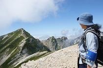 八方尾根から足をのばして唐松岳山頂へ