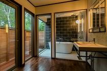 コテージの浴室