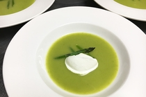 アスパラガスのスープ
