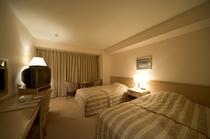 室内例 ツインルーム