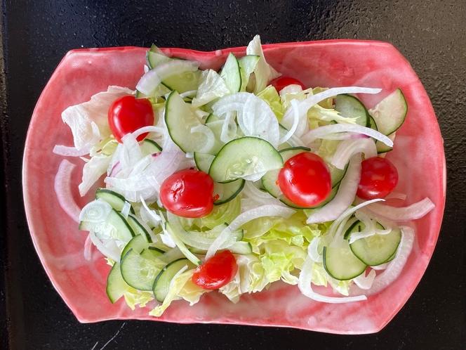 新鮮野菜(朝食)