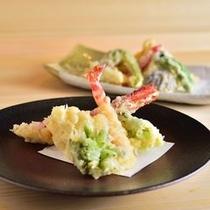 日本料理「弁慶」 揚げたてサクサクの天婦羅