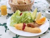 軽井沢高原野菜たっぷりの朝食