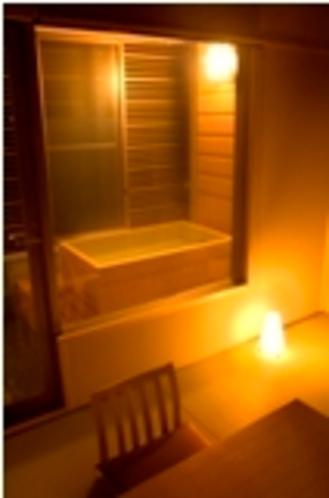 檜風呂付和室8畳