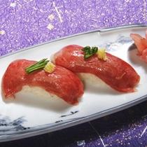 とちぎ和牛のあぶり寿司