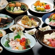【かや夕宴】 大皿盛込み料理