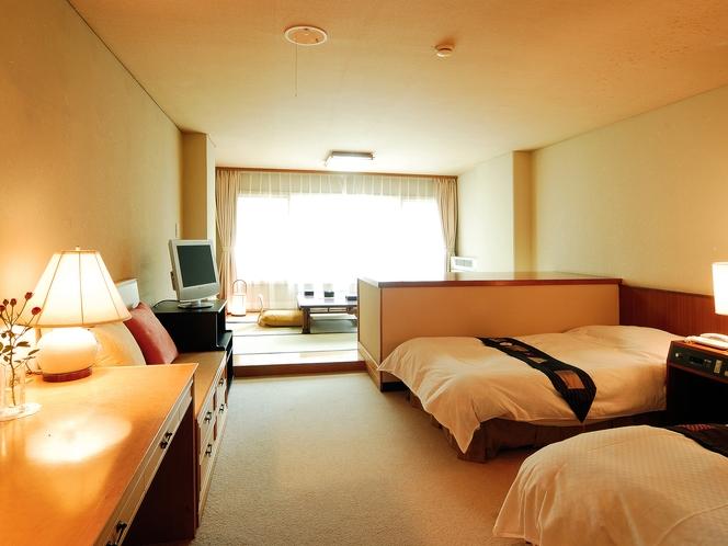 一般客室35㎡ 和室6畳+ツインベッド