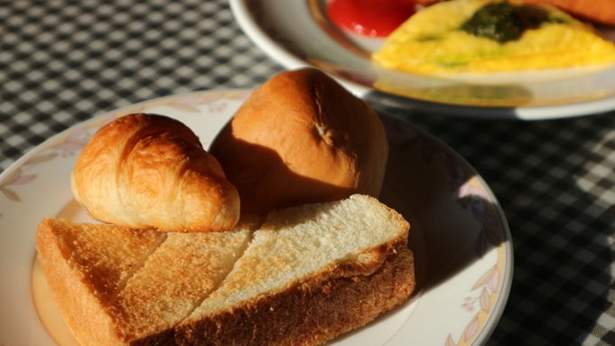 【朝食付】最終IN23時★栄養バランス満点の彩り洋食で1日の元気をパワーチャージ♪