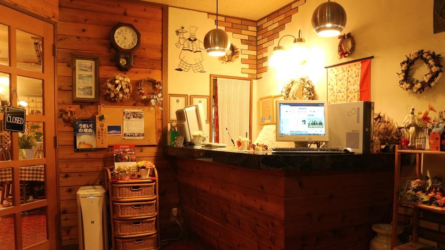 *[フロント]カントリー調で喫茶店のようなかわいらしい雰囲気♪