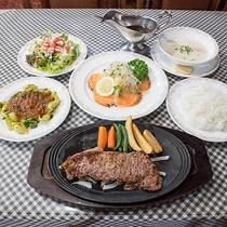 *[夕食全体一例]地元の乳製品や高原野菜、ハーブを取り入れた「手作りイタリアン」をご用意致します