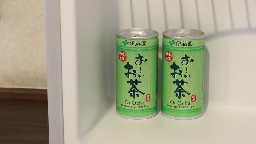 *[冷蔵庫一例]お部屋の冷蔵庫にサービスドリンクがございますのでお召し上がり下さい