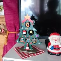 *[冬の館内]館内はクリスマスの装いに♪