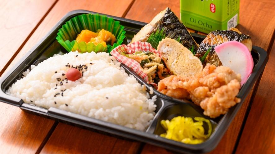 【焼き鯖弁当】お弁当朝食付きプラン