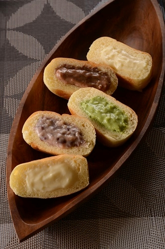 くりーむパン5種 中身