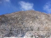 <天空露天からの眺め 冬のある日>
