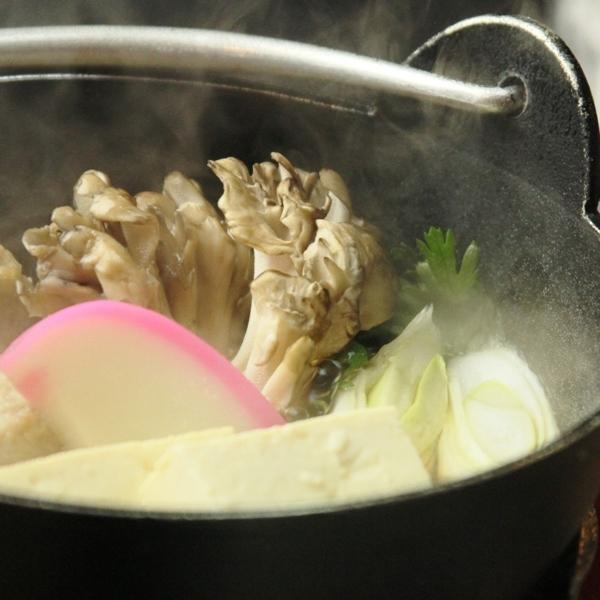 ☆お鍋にも地元産の野菜がたっぷ~り