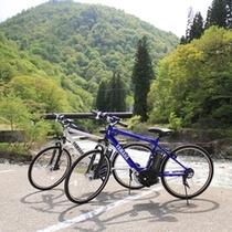 電動自転車で秋山郷をらくらくサイクリング