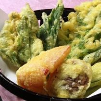 ☆季節の山菜の天麩羅