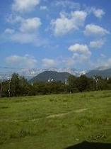 夏の白馬三山