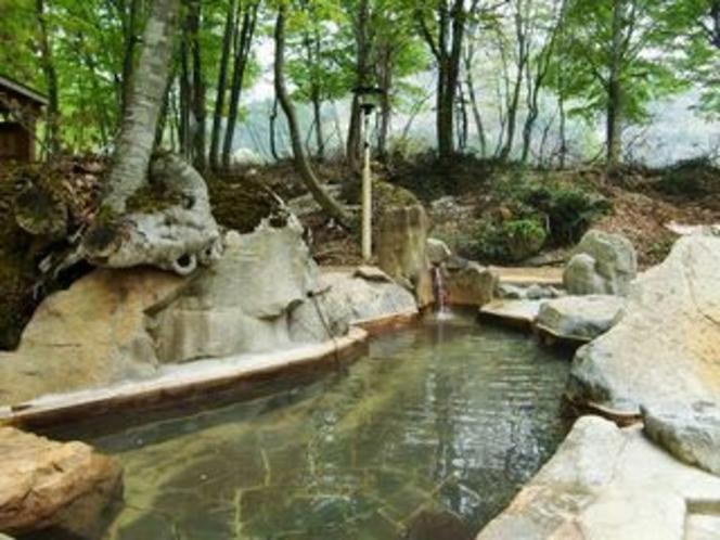 雨飾山露天風呂