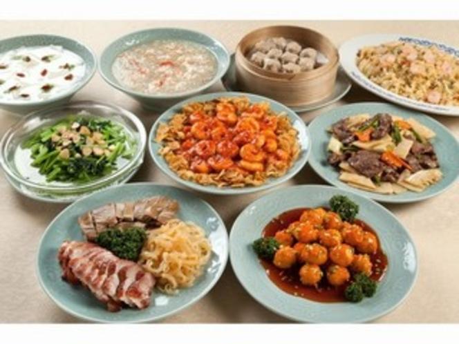 中華菜館・同發別館-コース料理①【イメージ】-
