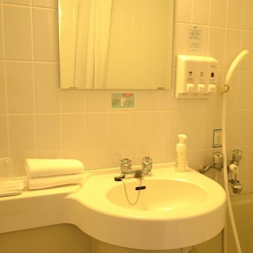ツインルーム(19平米)・バスルーム