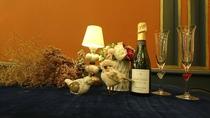 クリスマス限定・シャンパン・ハーフボトル【イメージ】①