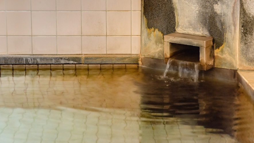 *大浴場(女湯)/天然温泉で癒される♪保温効果が高いので、湯冷めしにくくポカポカです。