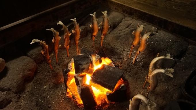 【露天風呂付客室 基本】  炭火懐石料理(A5和牛や串焼き)と源泉掛け流し露天風呂付客室(3階客室)