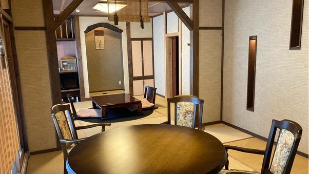 和室16帖+16帖ベットルーム+露天風呂(3階客室)禁煙室