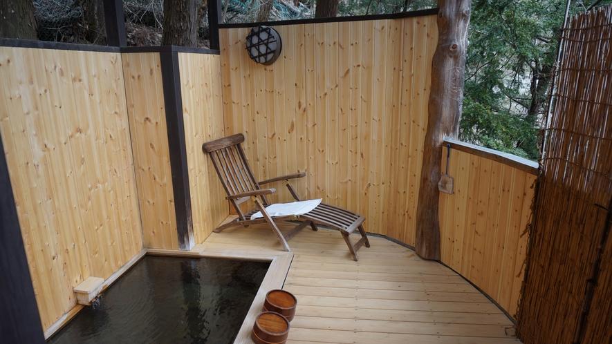 花の壱番客室 部屋付き露天風呂