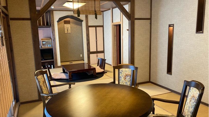 花の壱番客室 和室16畳+16畳ベットルーム+露天風呂