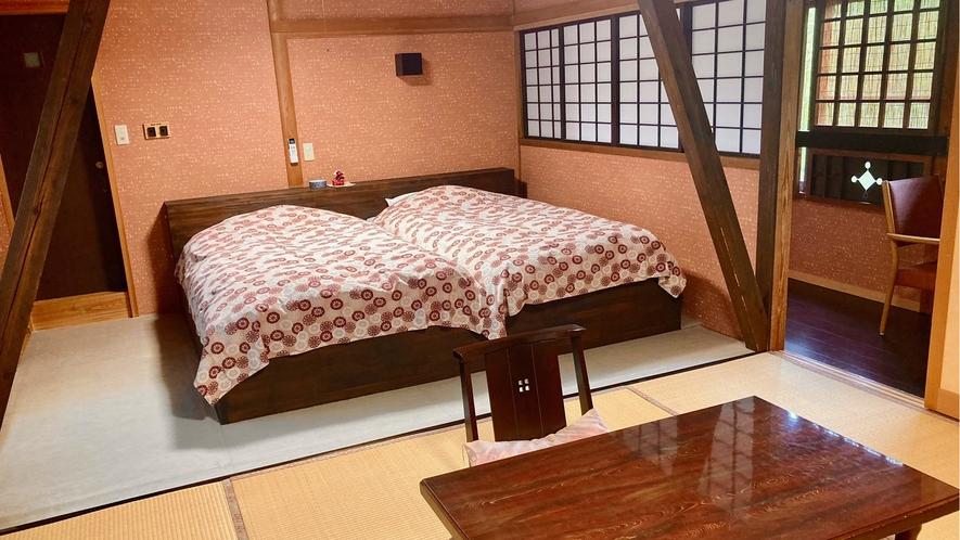 花の伍番客室 和室8畳+6畳ベットルーム