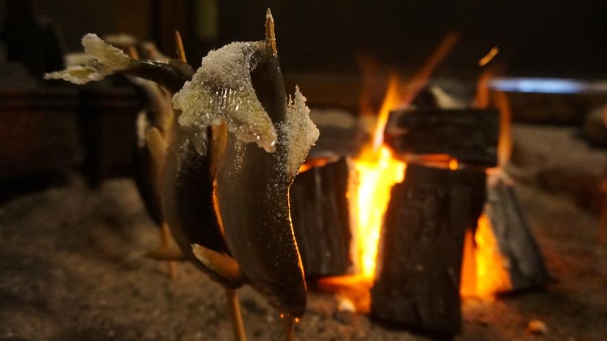 囲炉裏深山懐石料理 料理例