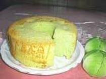 キャベツのシフォンケーキ