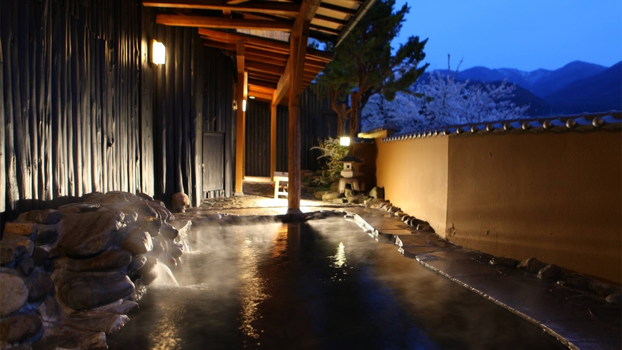 露天風呂(菖蒲の湯)