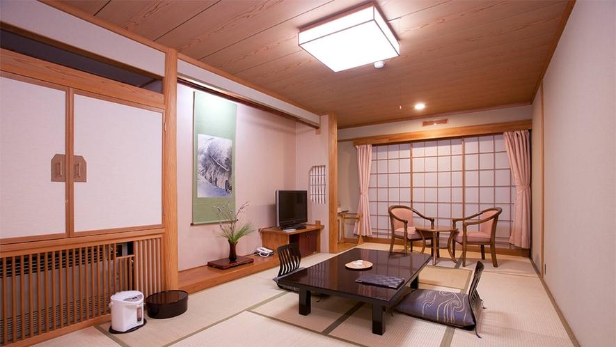 眺望和室一例