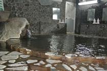男性大浴場 岩風呂