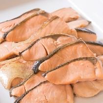 【朝食バイキング】焼き魚